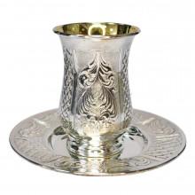 Бокал для кидуша SIL-08 серебро 925