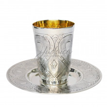 Бокал для кидуша SIL-04 серебро 925