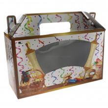 Картонная коробка для Пурима